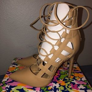 Caged heels from Agaci